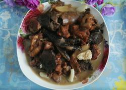 蘑菇炖柴鸡