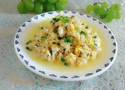 豆腐鱼炒鸡蛋