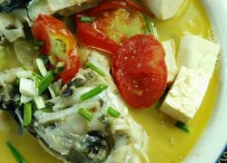 雄鱼豆腐汤