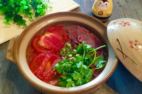番茄牛肉线粉