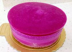 火龙果慕斯蛋糕6寸