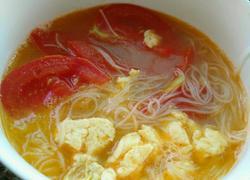 番茄鸡蛋米线