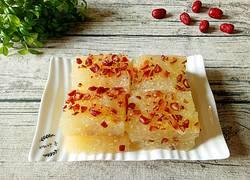 红枣小米马蹄糕