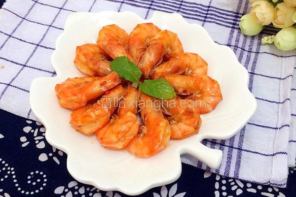 茄汁黄金虾