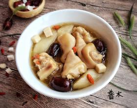 山药红枣猪蹄汤[图]