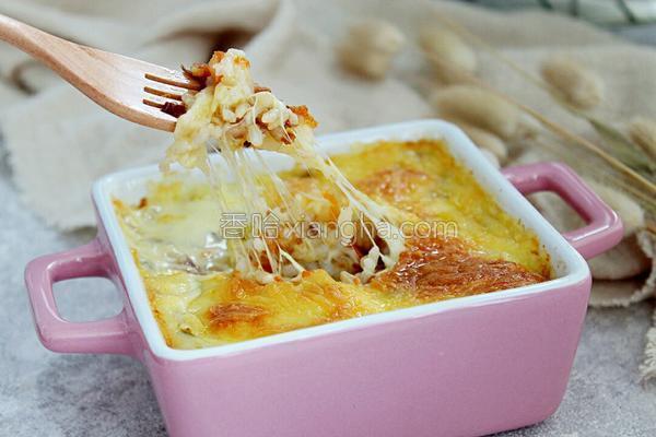 芝士焗饭_芝士焗饭的做法_菜谱_香哈网