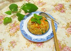 腊肠炒米饭