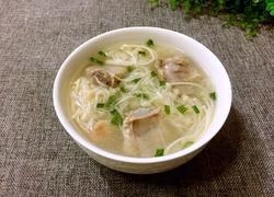 金针菇排骨汤