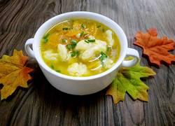南瓜面疙瘩汤