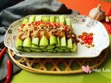 芝麻酱黄瓜条的做法[图]