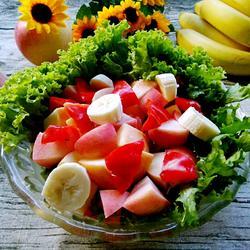 苹果醋果蔬沙拉