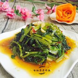 炝油菜的做法[图]
