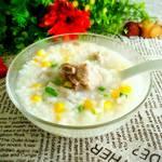 玉米排骨粥的做法[图]