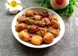 酱烧土豆丸
