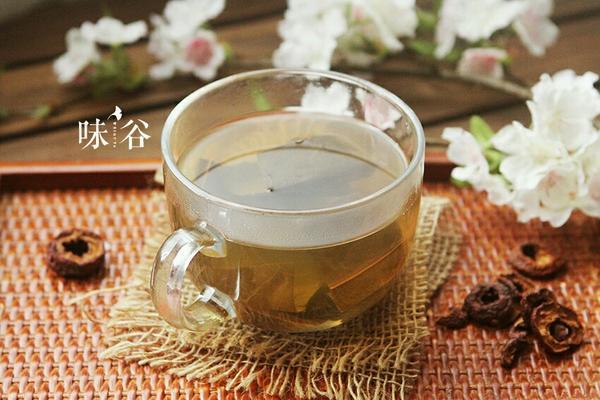 荷叶山楂茶