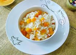 南瓜糯米饭
