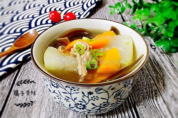 冬瓜排骨海带汤