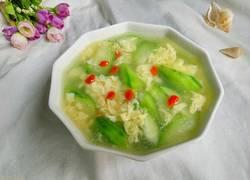 丝瓜蛋花汤