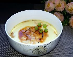虾米蒸鸡蛋