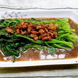 肉酱菠菜的做法[图]