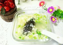 海参蛋花汤