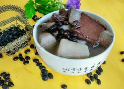 黑豆山药排骨汤