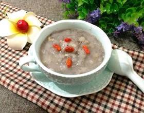 红豆沙雪蛤糖水