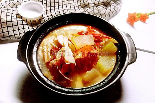 冬瓜螃蟹汤的做法