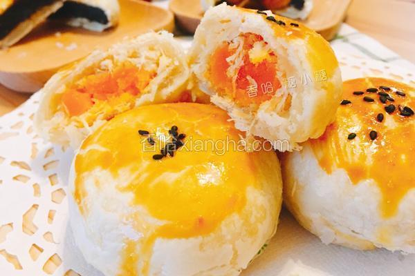 月饼馅料的做法_酥皮月饼的做法_菜谱_香哈网