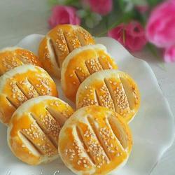 奶黄老婆饼(