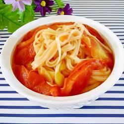 西红柿炝锅面