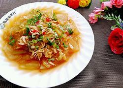 虾米炒冬瓜