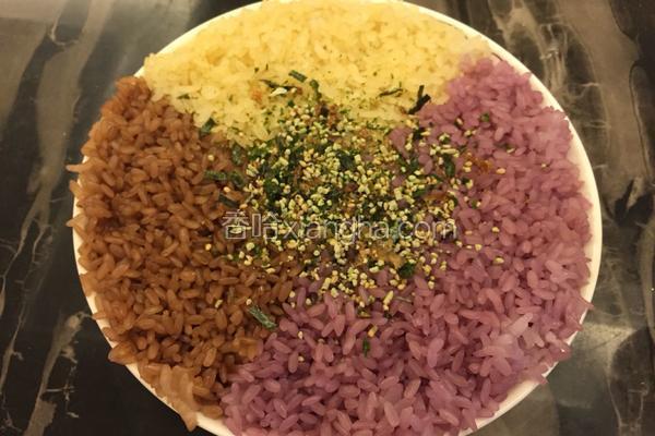 三色糯米饭