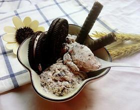 牛奶奥利奥冰淇淋[图]