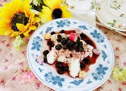 蓝莓山药泥