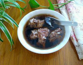 生地排骨汤