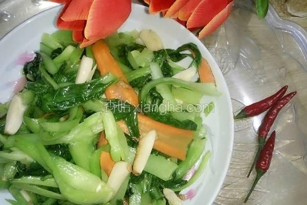 蒜香小青菜