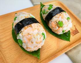 鲑鱼芝麻饭团[图]