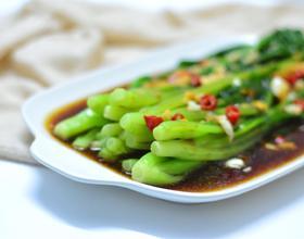 蚝油浸芥菜