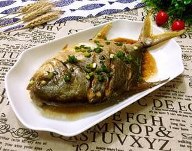 红烧海鲳鱼