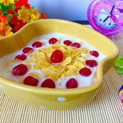 牛奶麦片的做法[图]