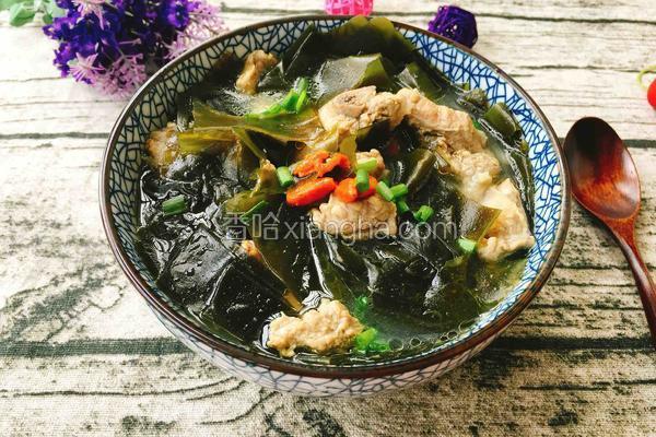 砂锅排骨海带汤
