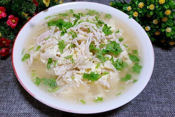 金针菇肉汤