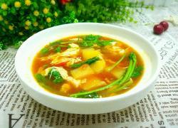 西红柿土豆鸡蛋汤