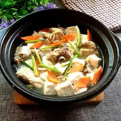 排骨炖豆腐的做法[图]