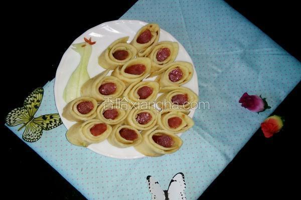 早餐鸡蛋卷饼