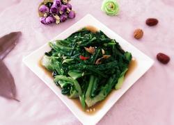 豆鼓鲮鱼炒麦菜
