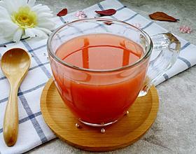 鲜榨西瓜雪梨汁[图]