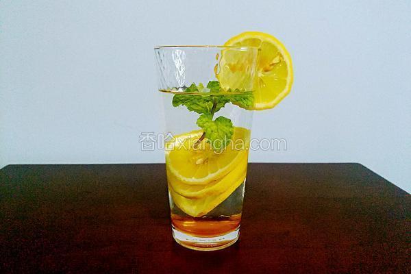 柠檬薄荷蜂蜜水