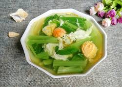 芥菜咸蛋汤